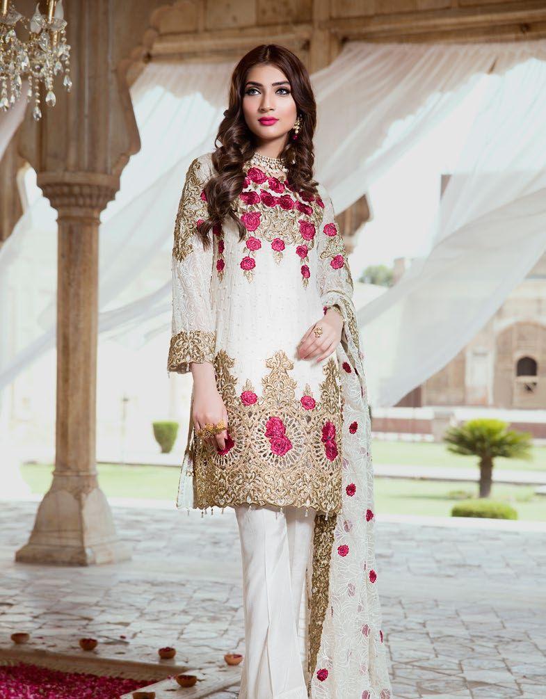 8187cc1b3c Embroyal Chiffon Eid collection by Serene | Clothing | Pakistani ...