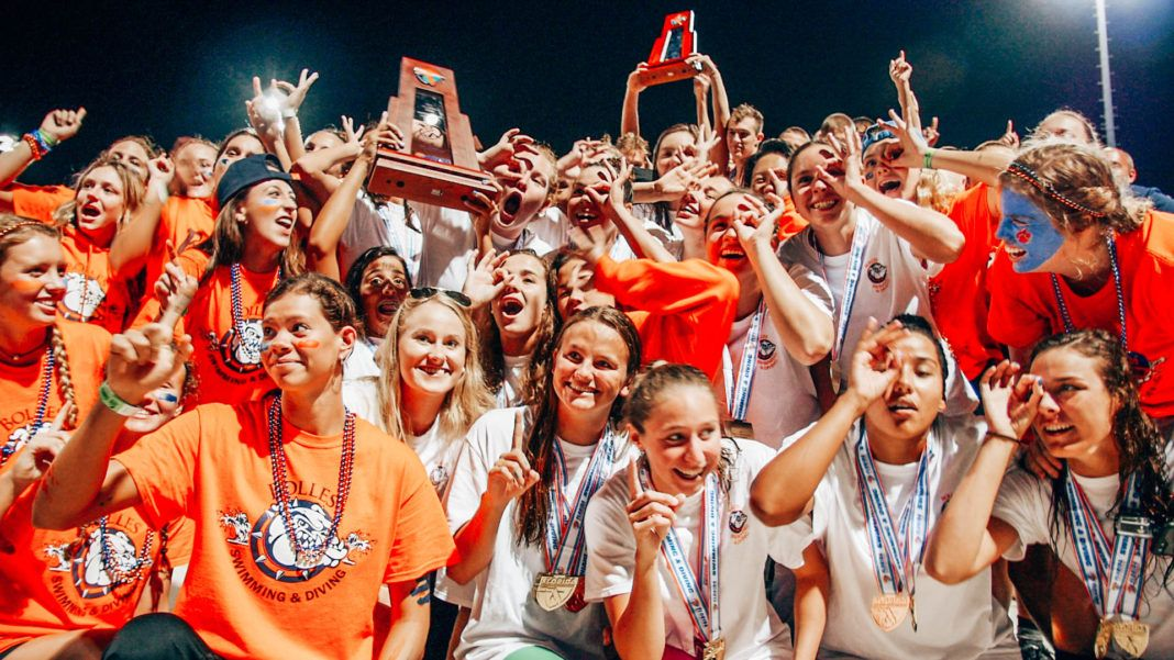 Bolles wins 1A Girls & Boys swimming Titles. From