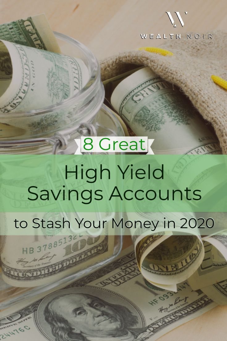 8 great high yield savings accounts to stash your money in