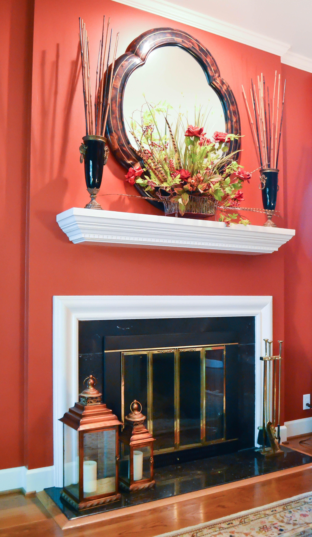 Home interior colors orange metty design  nashville tn facebookmettydesign modern