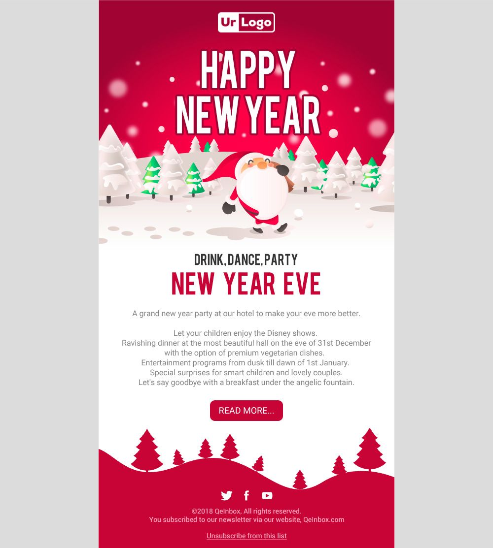 Christmas Email Templates Free Email Templates Email Templates Free Html Email Templates Happy new years email template