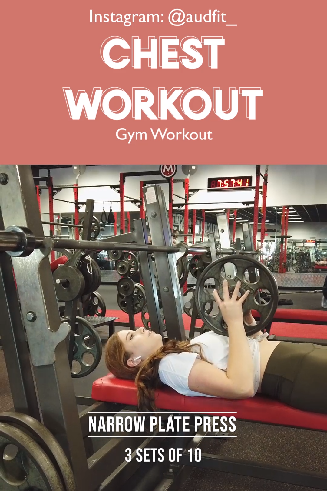 Chest Workout Women #chestworkouts Chest exercise for women are important to integrate into a balanc...