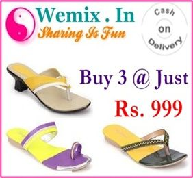 Women Shoes Sale Buy 3 Pairs For Flat Rs 999 Sandals For Sale