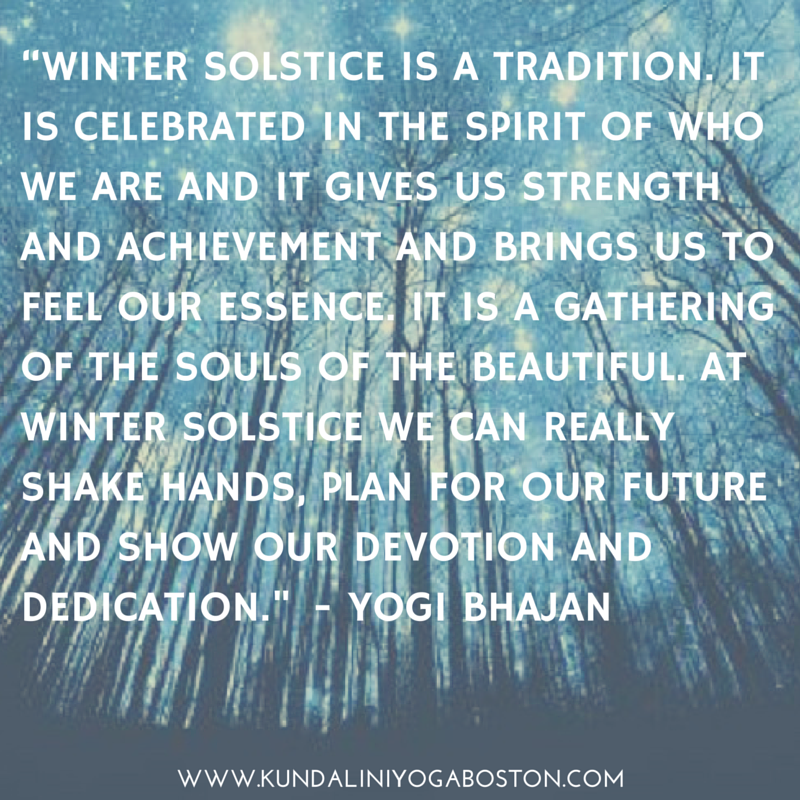 Happy Winter Solstice From Kyb Yoga Quotes Winter Solstice