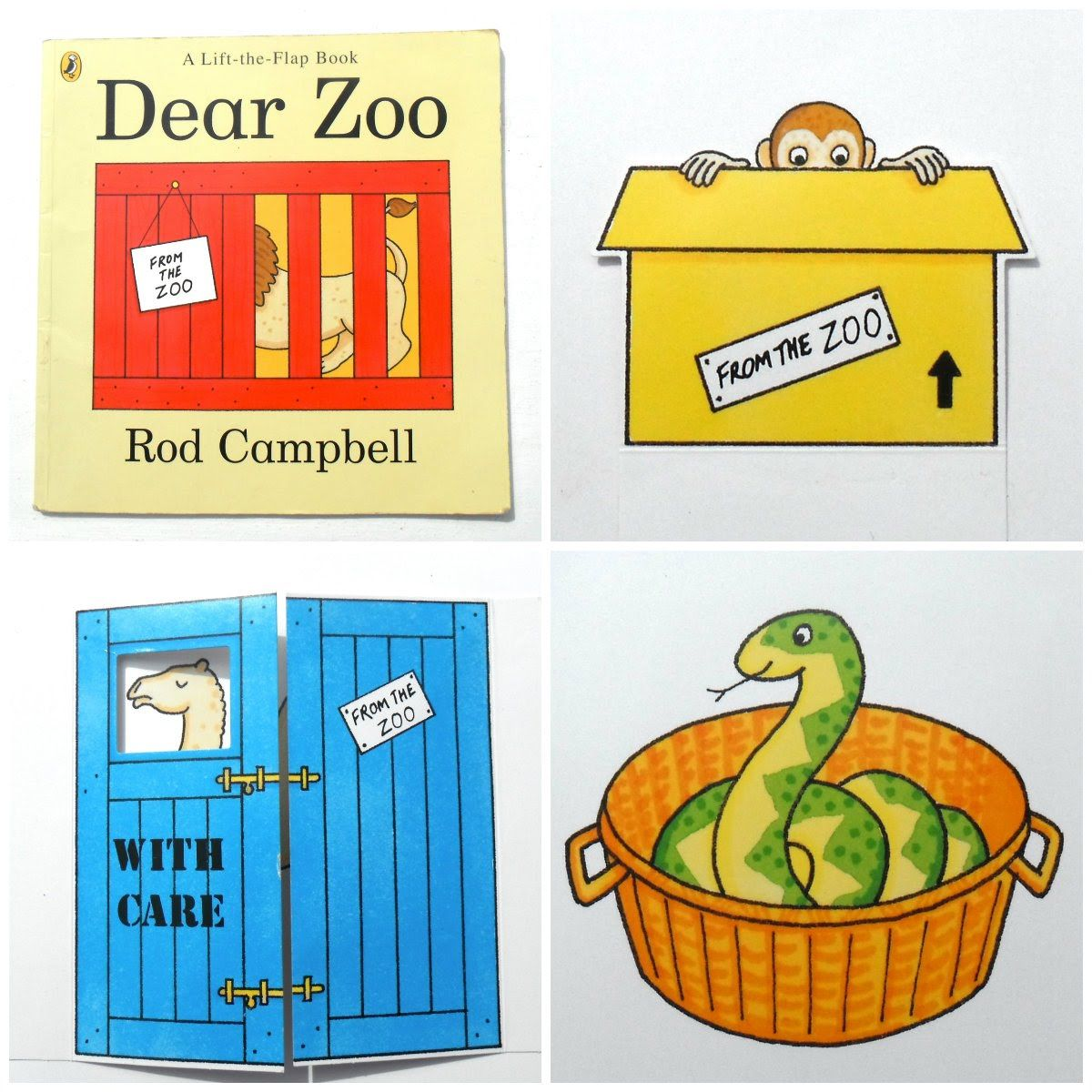 Dear Zoo Storytelling with Sherry
