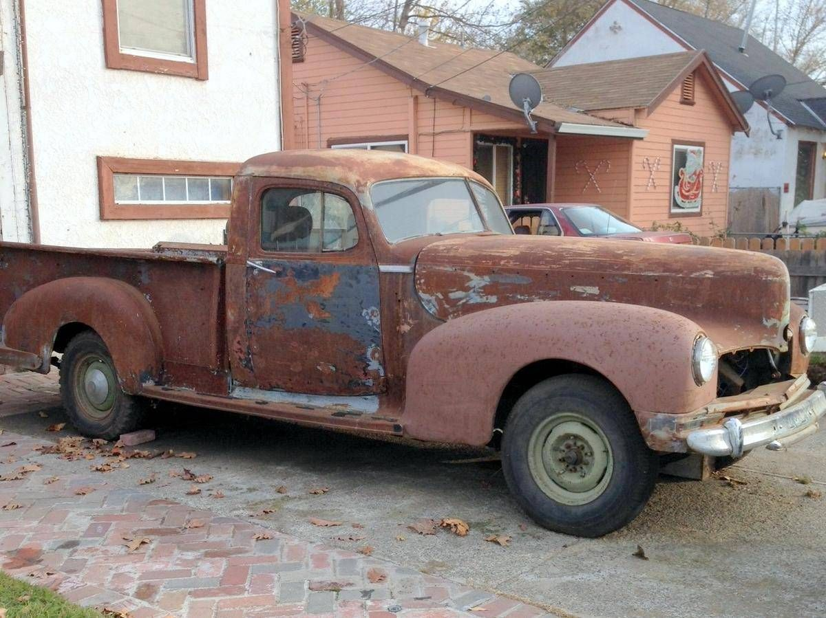 1947 Hudson 3/4 Ton Coupe Express Truck | Barn Finds,Junk Yard Cars ...