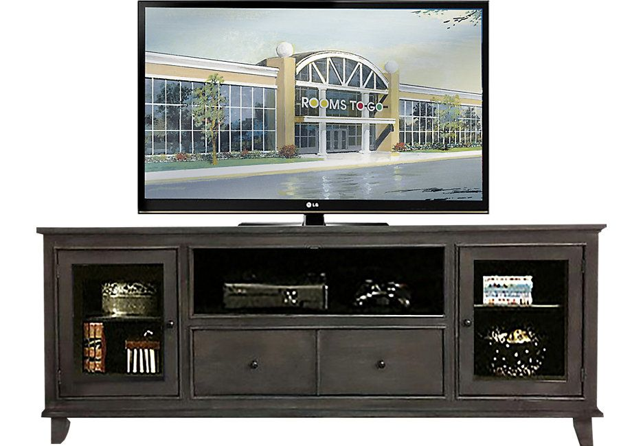 North Terrace 84 in. Gray Console .599.99. 84W x 16.5D x 33H. Find affordable TV Consoles for your home that will complement the rest of your furniture.  #iSofa #roomstogo