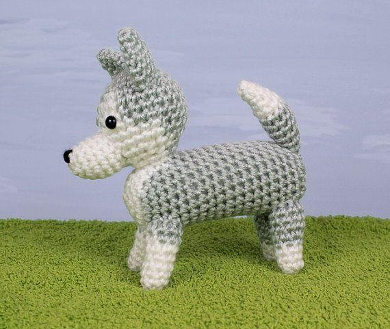 PDF AmiDogs Husky amigurumi dog CROCHET PATTERN | Pinterest | Kaufen