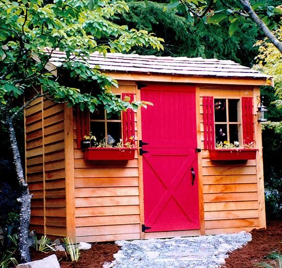 Diy Sheds For Sale: Haida Cabins - DIY Cedar Cabin Kits In 2019