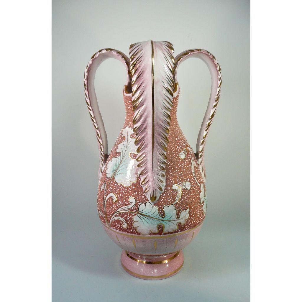 Large Mid Century Modern Italian Pottery Vase