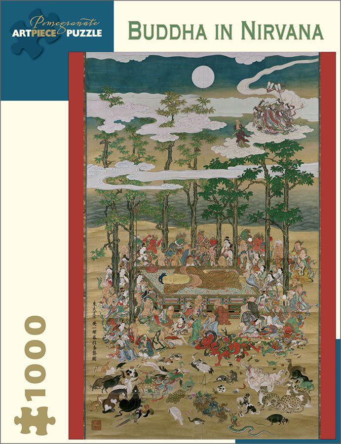 Buddha in Nirvana 1,000 piece puzzle artwork by Hanabusa