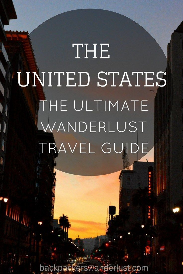 the ultimate wander travel guide for united states