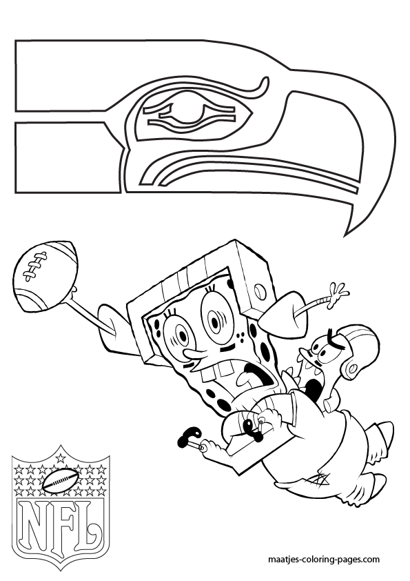 Nfl seattle seahawks coloring pages seattle seahawks for Seattle coloring pages