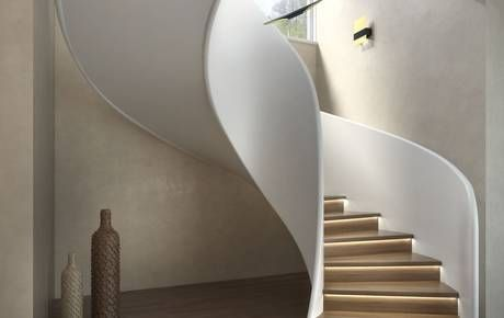 Helical staircase exclusive arch : detail stair pinterest
