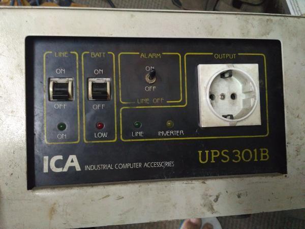 Jual Beli BEKAS NORMAL UPS ICA UPS 301b PENJUALAN Tanpa Aki Bisa - Schematic Diagram Ups Ica
