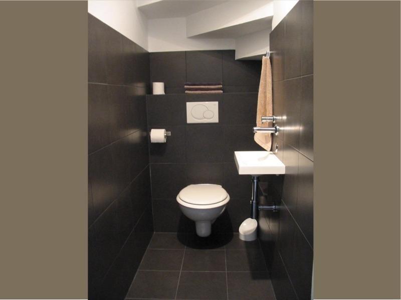 Belle d co toilettes sous escalier d co toilettes sous escalier et toilette - Toilette sous escalier ...