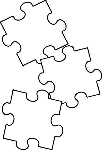 Black White Puzzle Piece Clip Art Vector Clip Art Online Clipart Best Clipart Best Clip Art Puzzle Pieces Diy Book