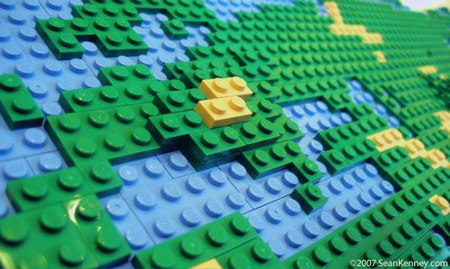 All Things Beautiful  LEGO Map of the World   Legos Make You Smart     All Things Beautiful  LEGO Map of the World