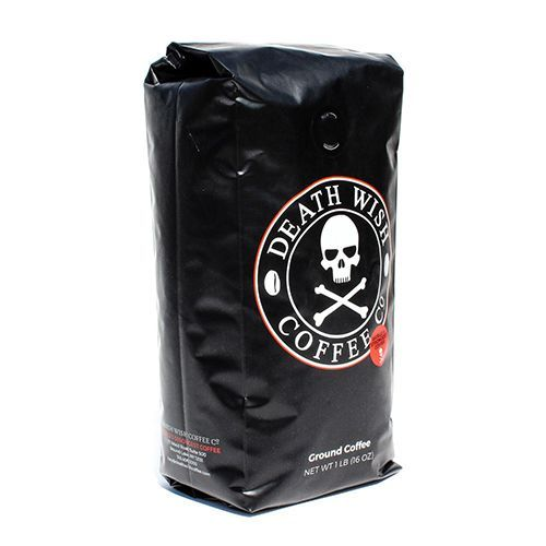 Death wish ground coffee 16 ounces 19 buy now the self proclaimed 19 buy now the self proclaimed worlds strongest coffee death wish grounds are usda certified organic and fairtrade this high voltage brew is not only publicscrutiny Choice Image