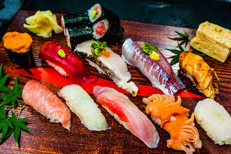 This is What Sushi Looks Like in 13 Countries Sushi