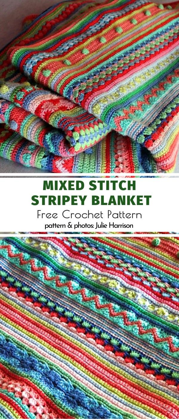 Stitch Sampler Blanket Ideas
