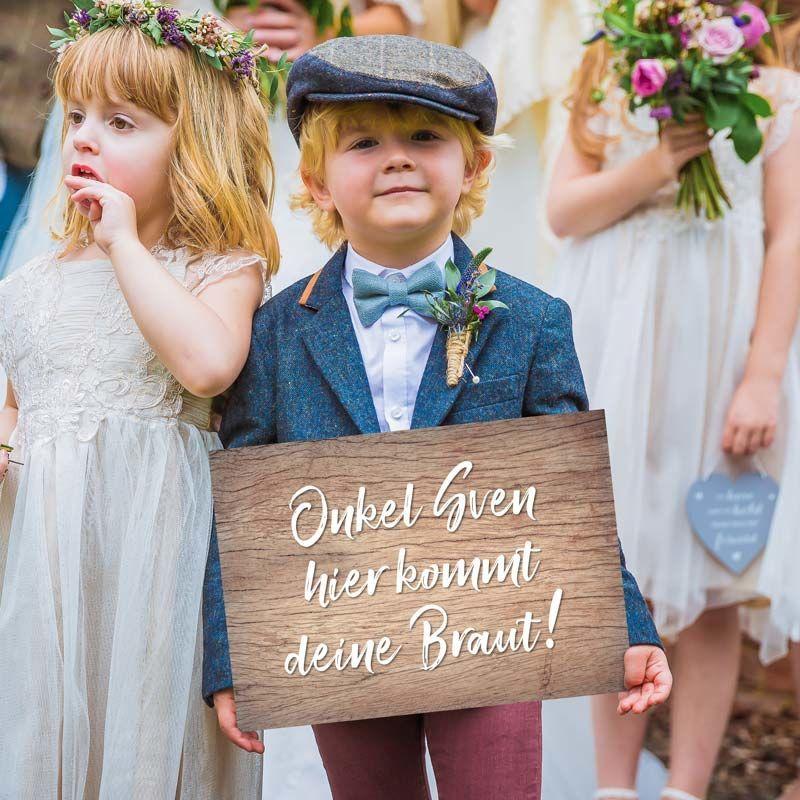 Schild Hier Kommt Deine Braut Zur Hochzeit Personalisiert Blumenkinder Hochzeit Vintage Hochzeit Hochzeit
