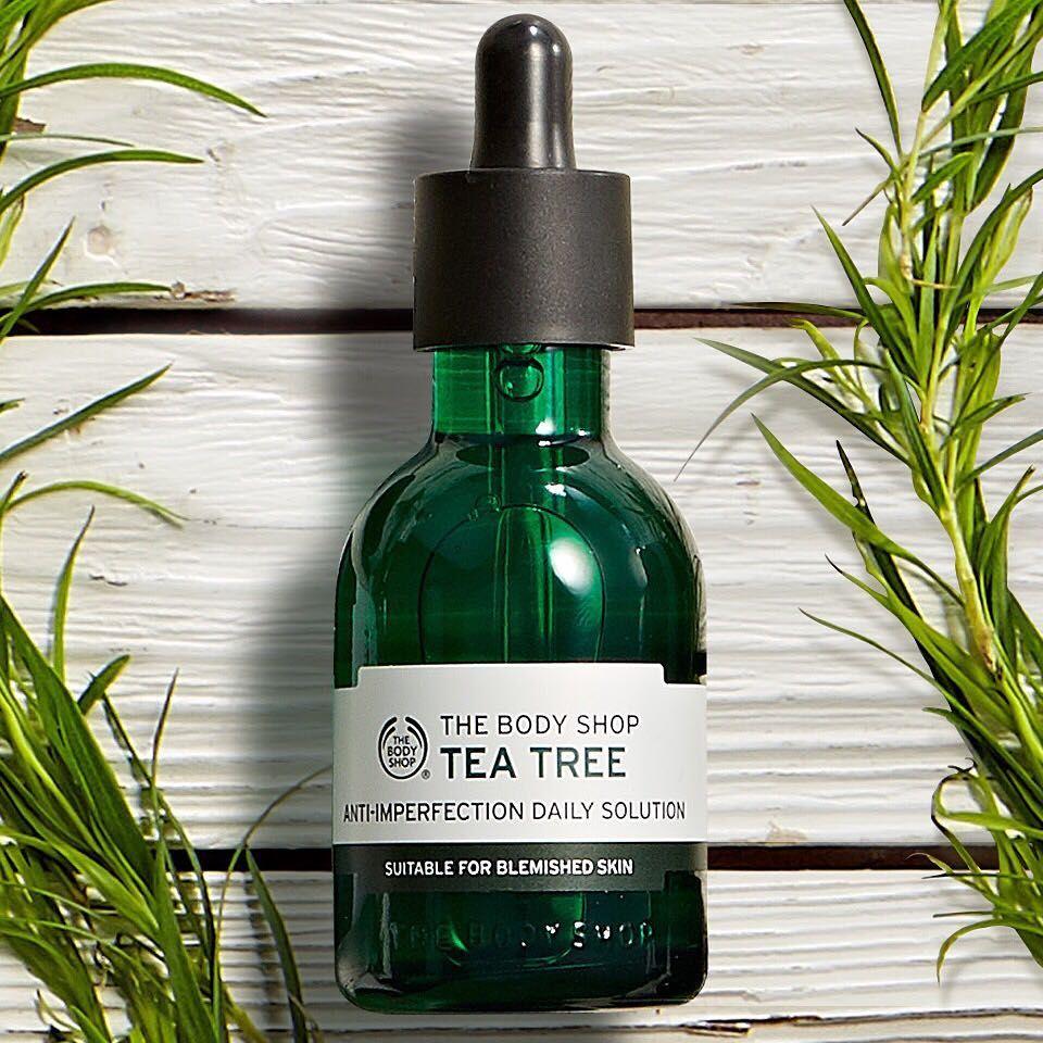 Tea Tree Oil The Body Shop Untuk Jerawat