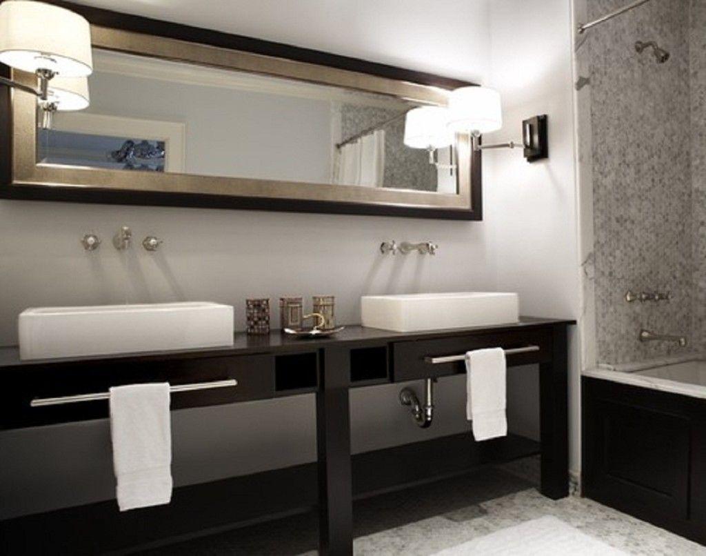 Open Bathroom Cabinets