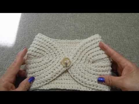 Tutorial Tejido Fácil y Abrigador Crochet - YouTube | tricot ...