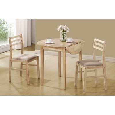 Wildon Home ® Lexington 3-Piece Dining Set in Natural