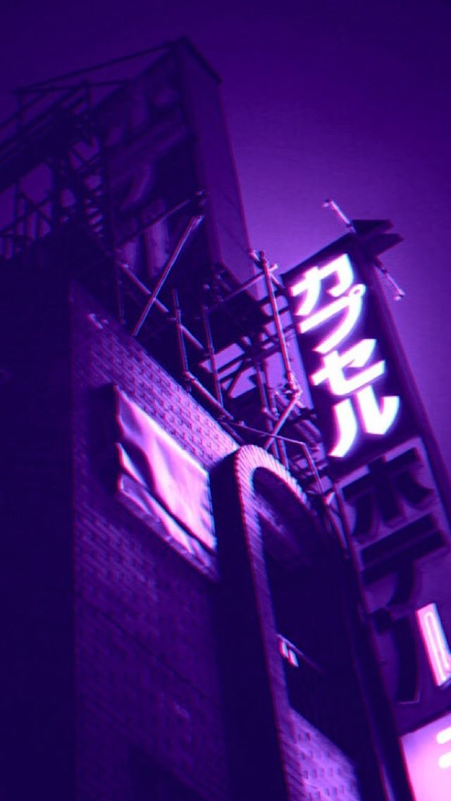 Neon White Aesthetic Pictures