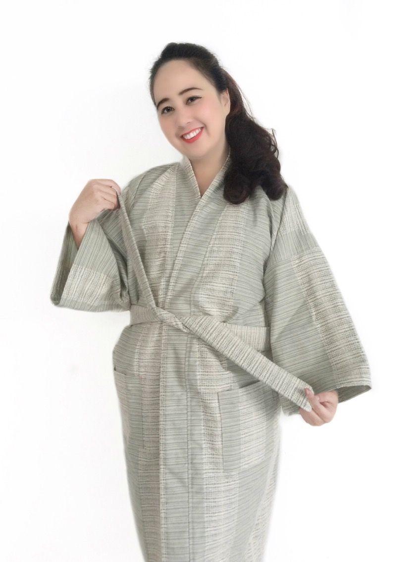 15897f4f0a952 Japanese organic woven cotton kimono  amp  yukata bathrobe. Get your own  style before they