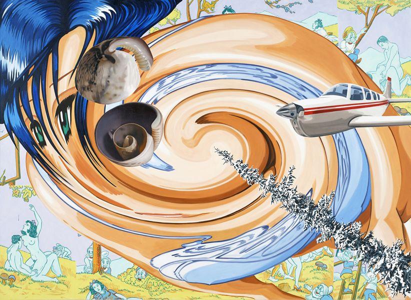 David Salle | Float, 2005