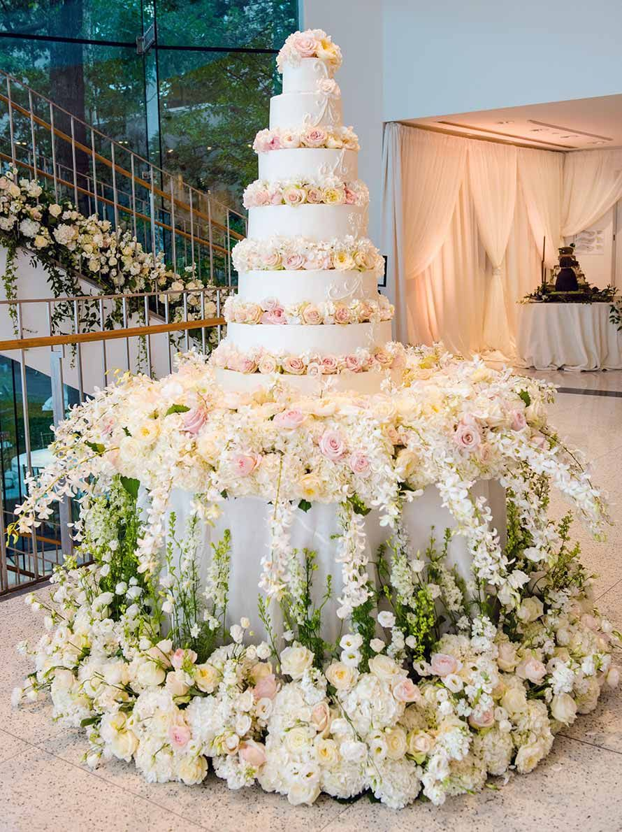 Silver Wedding Decorations For Tables Wedding Cake Table Decorations Wedding Cake Table Cake Table Decorations