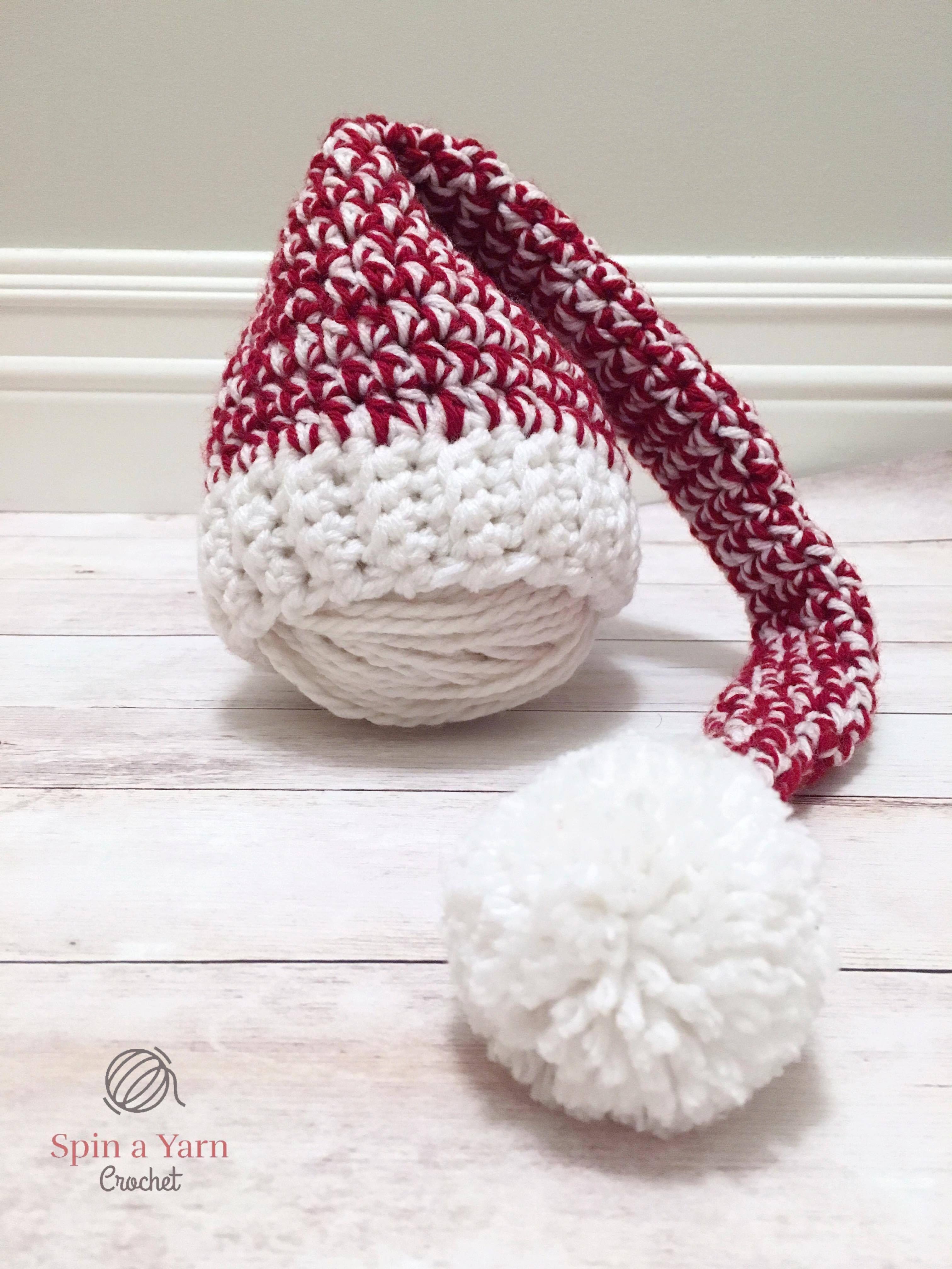 Newborn Elf Hat Free Crochet Pattern | Gorros, manoplas y guantes ...