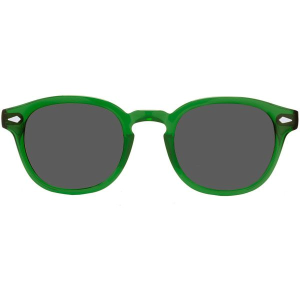 4d91f165ed Moscot Emerald Lemtosh Sunglasses ($88) ❤ liked on Polyvore featuring  accessories, eyewear, sunglasses, glasses, folding sunglasses, moscot  eyewear, ...