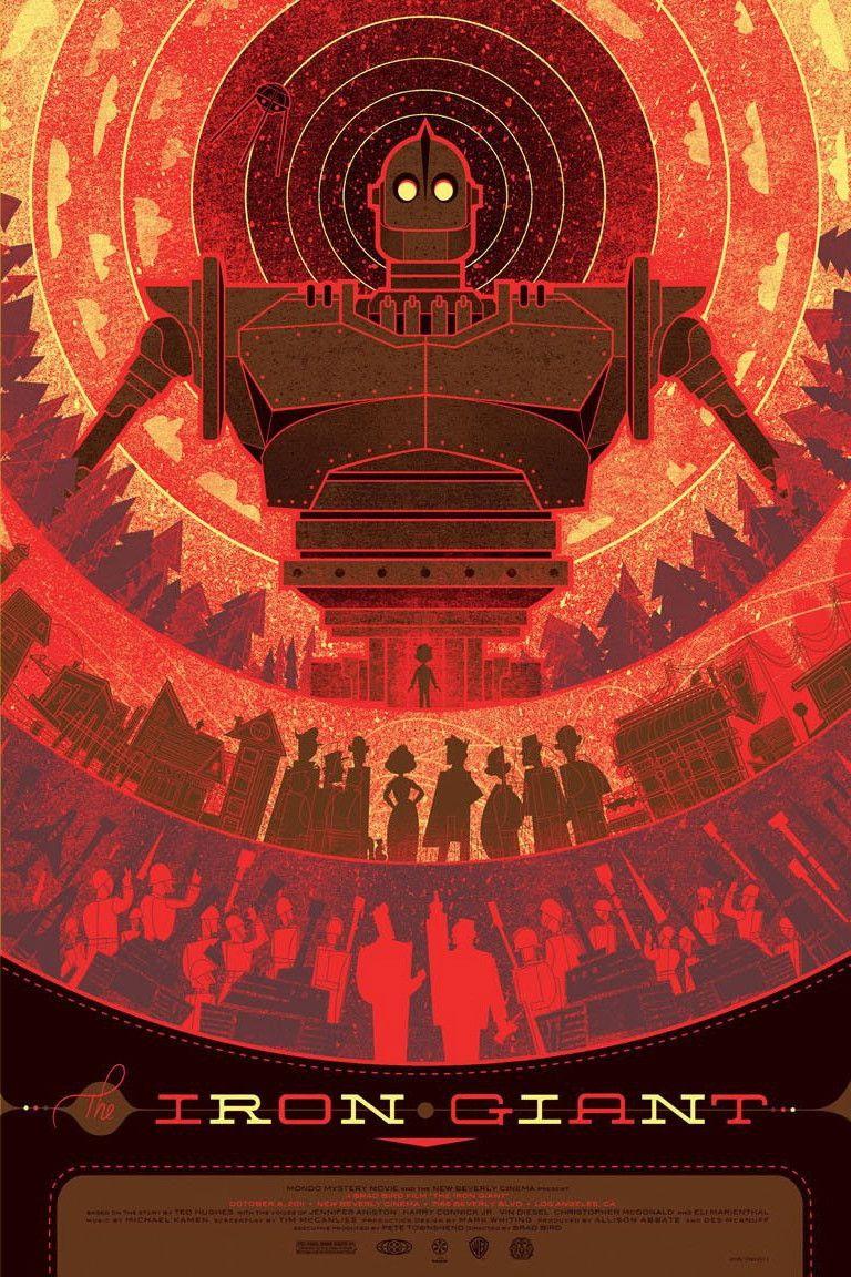 Zen poster design - Iron Giant