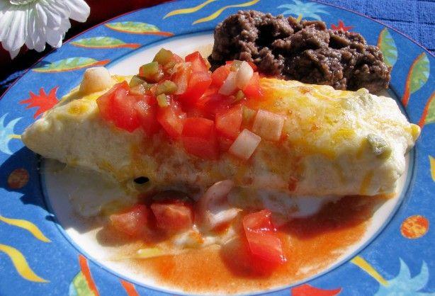 Chicken Enchiladas With Sour Cream Sauce Recipe Food Com Recipe Recipes Sour Cream Sauce Cream Sauce Recipes