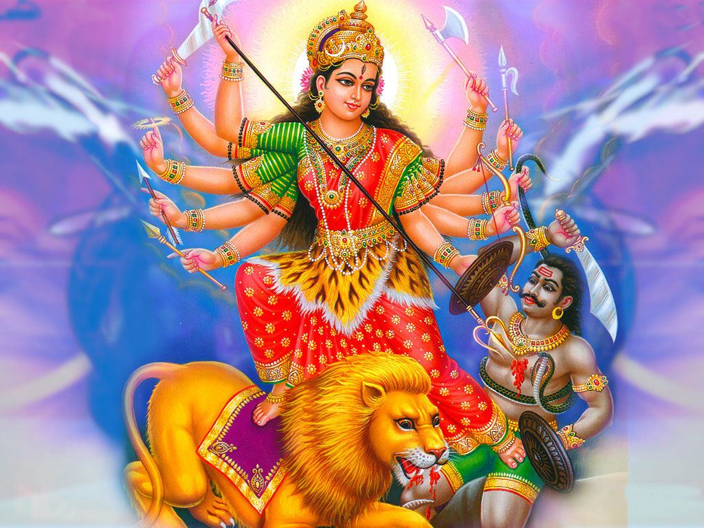 free navratri maa durga wallpapers for desktop download and hd full