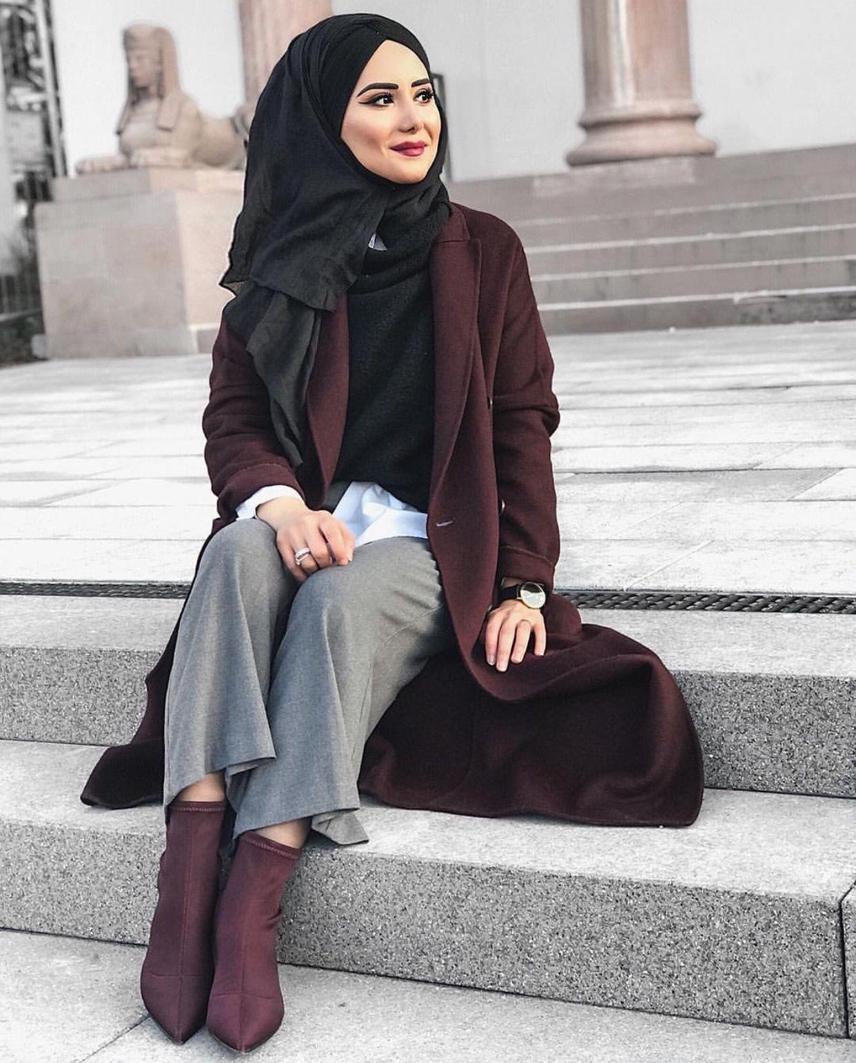 ig rbiaa yldz winter fashion hijab fashionista hijab. Black Bedroom Furniture Sets. Home Design Ideas