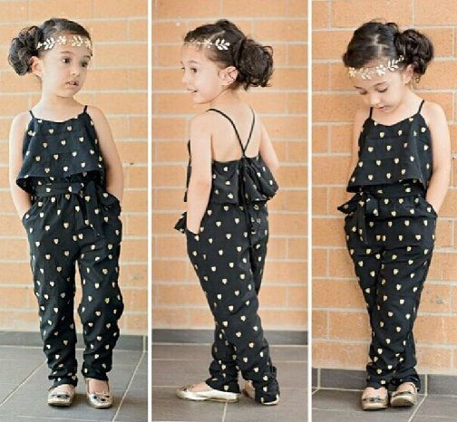15 Latest and Beautiful Jumpsuits for Kids in Fashion