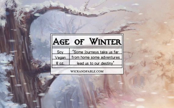 Age of Winter  Chronicles of Narnia Inspired by WickandFable