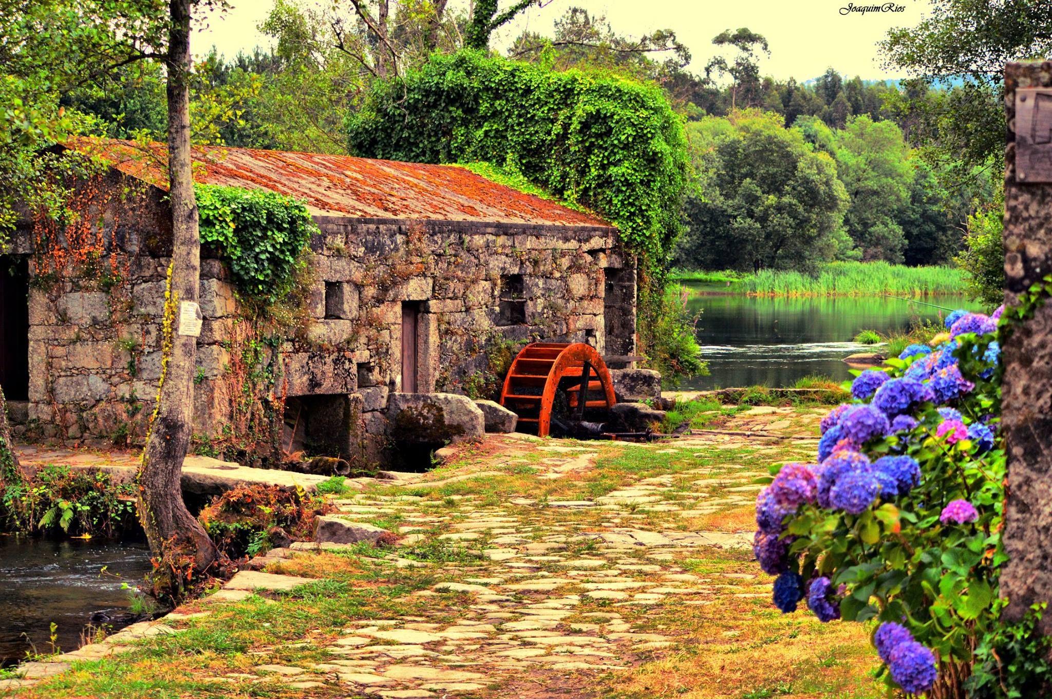 Praia Fluvial De Adaufe Braga Portugal Portugal Lugares De