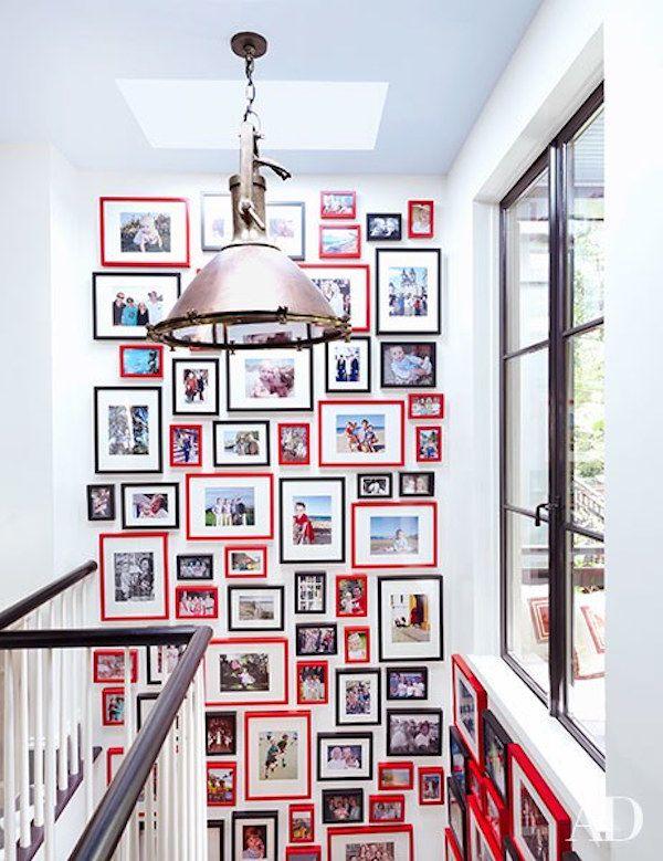 6 modos para decorar paredes con fotos de familia | Decorar paredes ...