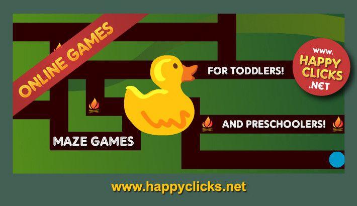 Maze Games For Kids Using The Arrow Keys