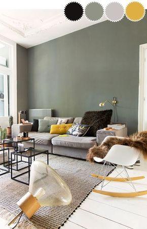 Een kamer in één kleurenpalet | woonkamer | Pinterest - Interieur ...
