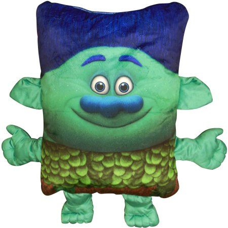 DreamWorks Trolls Branch 3D Pillow Buddy