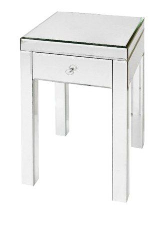 Glass End Table / Nightstand