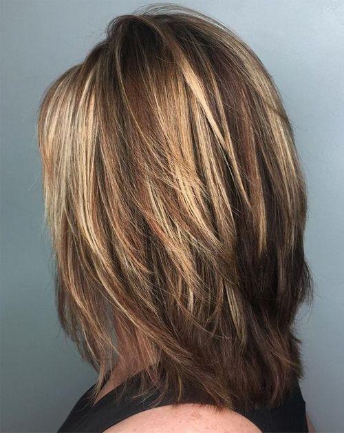Gorgeous Face Framing Medium Length Hairstyles For 2019 Page 22 Of 28 Hairstyle Zone X Hair Styles Medium Layered Haircuts Medium Hair Styles