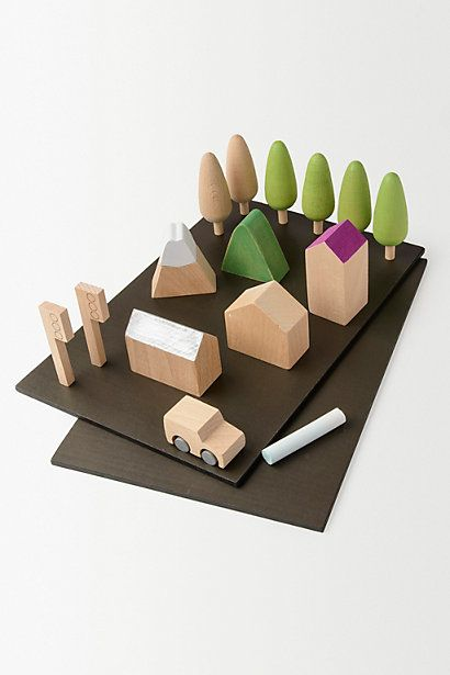 Shrubbery Toy-Town #anthropologie